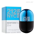 Туалетная вода Carolina Herrera 212 NYC Men Pills