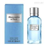 Туалетные духи Abercrombie & Fitch  First Instinct Blue Woman