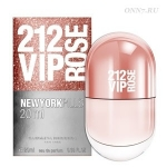 Туалетные духи Carolina Herrera 212 VIP Rose Pills