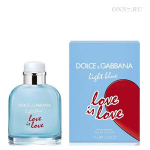 Туалетная вода Dolce & Gabbana  Light Blue Love Is Love Pour Homme