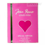 Туалетные духи Jean Reno LOVES YOU (special edition)