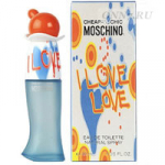Туалетная вода Moschino Cheap & Chic I Love Love