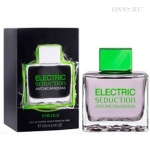 Туалетная вода Antonio Banderas Electric Seduction In Black for men