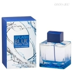 Туалетная вода Antonio Banderas Blue Seduction for Men Splash