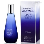 Туалетная вода Davidoff Cool Water Night Dive Woman
