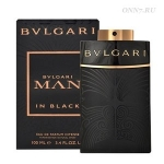 Туалетные духи Bvlgari Man In Black All Blacks Edition
