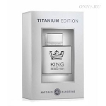 Туалетная вода Antonio Banderas King of Seduction Titanium